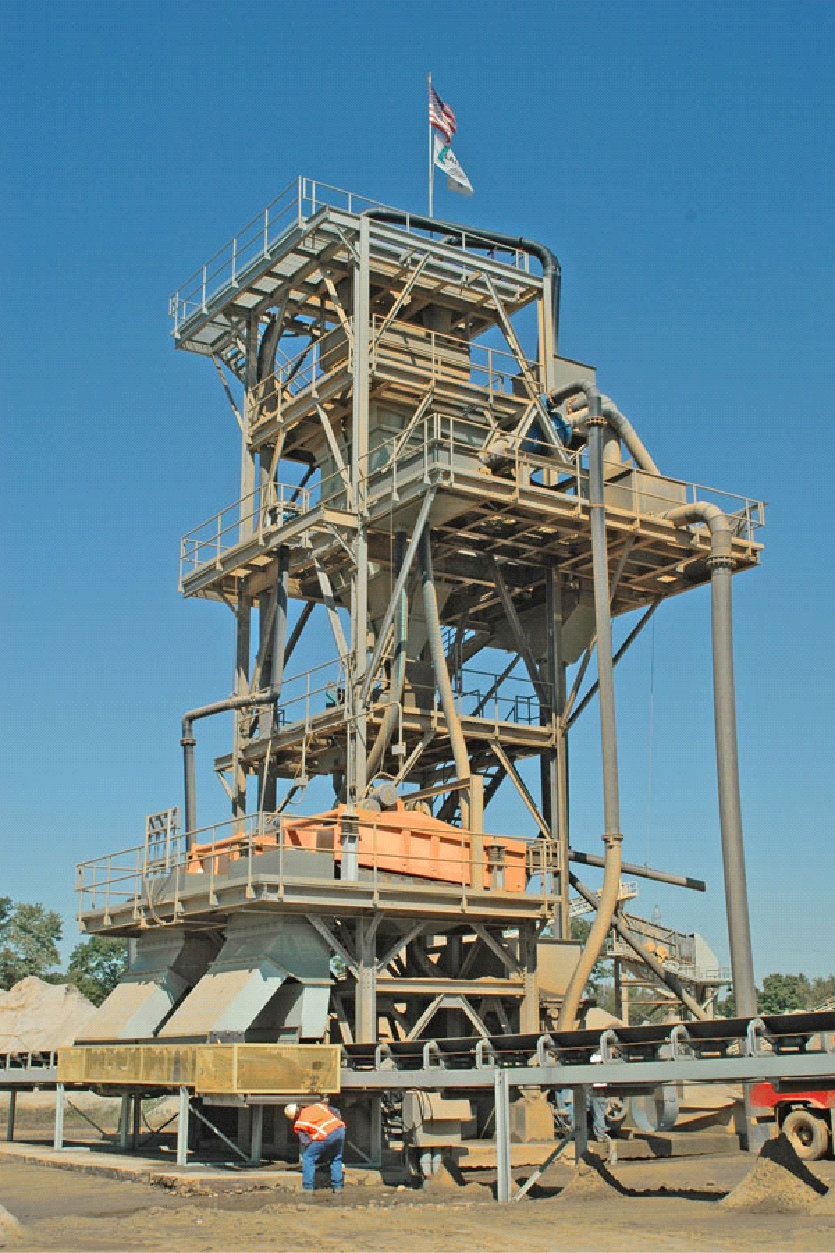 9' x 9' Density Separator Lignite Removal Fines Recovery System