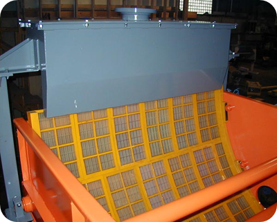 Curved Deck Sizing Screen